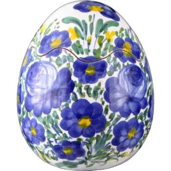 Uovo di Pasqua Decorato a Mano