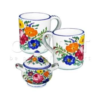 Set 2 Mug & Zuccheriera - LOVE